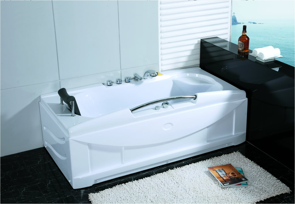 new 1 person jacuzzi whirlpool massage hydrotherapy bathtub tub indoor