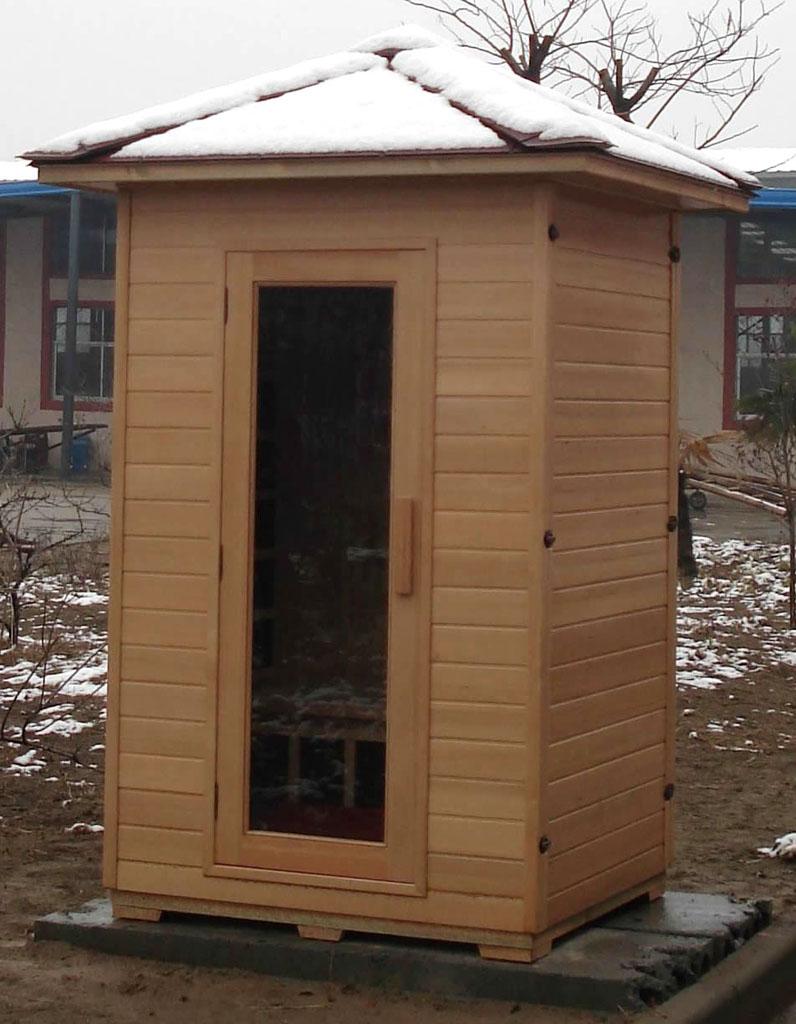2 person sauna outdoor far infrared hemlock 5 ceramic heaters am fm cd 110v new decorate with daria. Black Bedroom Furniture Sets. Home Design Ideas